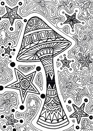 trippy printable coloring pages images of mushrooms coloring pages google search free printable trippy coloring pages