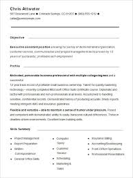 Functional Resume. Cool Best Administrative Assistant Resume .