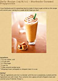 starbucks caramel frappuccino recipe. Plain Caramel Diy Starbucku0027s Caramel Frappuccino Perhaps This One Would Be  BettereasierI Use Splenda Instead Of Sugar And Low Cal Carmel Syrup To Make It  For Starbucks Caramel Frappuccino Recipe N