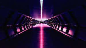 Synthwave Aesthetic Corridor 4k, HD ...