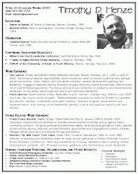 Pastor Resume Templates Classy Pastor Resume Template Samples VisualCV Database 488 Lead 48 Youth