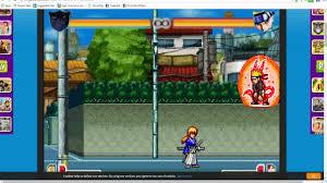 Kenshin 3 cấp tiến hóa và kĩ năng trong Bleach vs Naruto 2.6 - YouTube