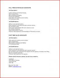 Sample Resume For Clothing Retail Sales Associate Skills
