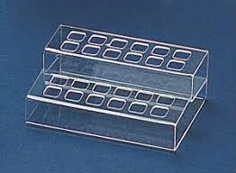 Lipstick Display Stands Acrylic Lipstick Acrylic 100 Square Lipstick Display Holder in 54