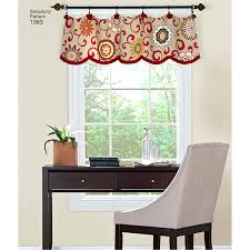 Patterns For Valances Impressive Valance Patterns For Windows Minute Window Valance Valance Patterns