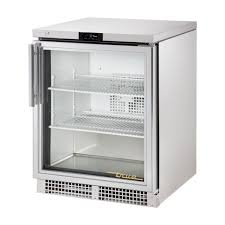 true glass door display fridge 147ltr