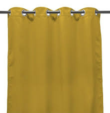 sunbrella canvas maize outdoor curtain panel available in 3 length options 84 96