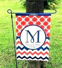 monogram outdoor house flags yard flag garden 7 best images monogrammed trendy p