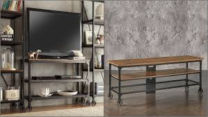 Grande Sofa Table Tv Stand Plus Living Room Furniture Inspire Q Nelson Industrial  Rustic in Rustic