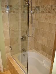 notable glass door for bath half glass shower door for bathtub bath and bathroom pertaining to