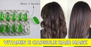 vitamin e for hair benefits and how to