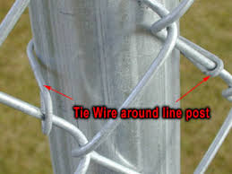 chain link fence ties. Perfect Link Chain Link Post With Tie Wire Intended Fence Ties N