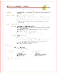 Luxury Accounting Objective On Resume Mailing Format