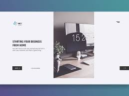 How To Start A Web Design Business From Home Home Business Website By Hilmand On Dribbble