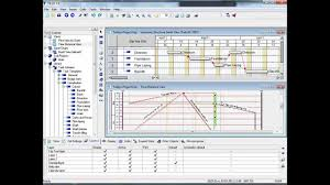 Gantt Chart Lesson Tilos Trial Lesson 3 How To Interact Between Gantt And Time Distance Charts