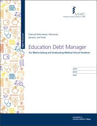 Education Debt Manager For Matriculating And Graduating