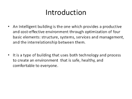 Create A Ppt Intelligent Building Ppt