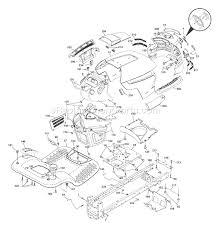 husqvarna yth 2348 parts list and diagram (96043003500) (2006 11 husqvarna yth20k46 wiring diagram at Wiring Diagram Husqvarna Lawn Mower Yth22