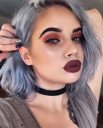 laurenrohrer is serious makeup goals with this bold edgy makeup look she topped off her eye look with the creme lashes