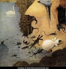 bosch the garden of earthly delights. Hieronymus Bosch, Garden Of Earthly Delights (1503) Museo Del Prado, Madrid, Spain. Left Panel: Eve Joining Adam In The Eden Bosch S