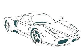Car Coloring Pages Printable Car Racing Coloring Pages Printable Car