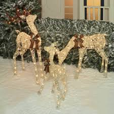 Details About 3pc Lighted Nativity Scene Holy Family Display
