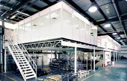 office mezzanine. As A Single Source Supplier, PortaFab Provides Greater Engineering Control  And Enables Us To Coordinate All Aspects Of The Project With Our Distributors. Office Mezzanine I