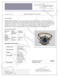 sle diamond and jewelry appraisals james farrow pany jewelry appraisers