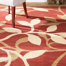 charlton home gaskins red area rug reviews wayfair for prepare 6