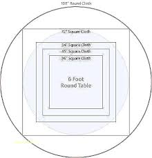 6 foot round table chart linen sizes for seating tablecloth trade show tabl round table measurements 6 ft