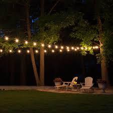 Designer Garden Lights Delectable Patio String Lights Yard Envy