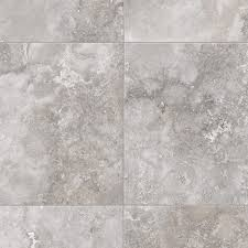 trafficmaster travertine grey 12 ft wide x your choice length residential vinyl sheet