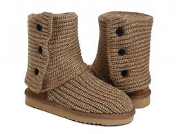 Shopping Spree USA UGG Classic Cardy Boots 5819 Chestnut For Women
