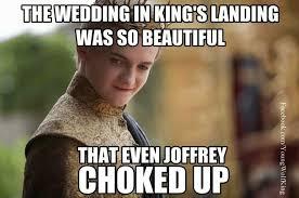 The Beautiful Purple Wedding | Geek | Pinterest | Wedding Meme ... via Relatably.com