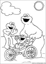Sesame Street Free Printable Coloring Pages For Kids