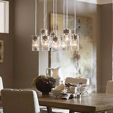 vallymede 25 47 in brushed nickel barn multi light clear glass jar pendant wall s furniture decor