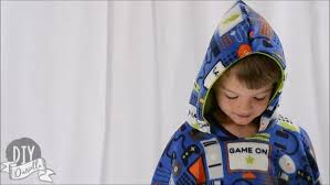 how to sew a car seat poncho with fleece fabric
