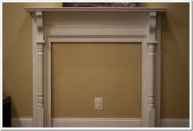 Frank Fontana On How To Make And Decorate A Fake Fireplace Mantel How To Build A Faux Fireplace