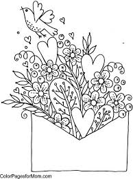 Click on valentine´s day coloring pictures below for the printable valentine´s day coloring page. 20 Valentines Coloring Pages Happiness Is Homemade