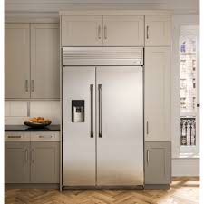 built in refrigerator.  Built GE Monogram 48 On Built In Refrigerator R