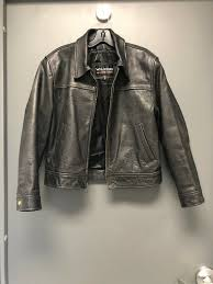 wilson the leather experts women s pre owned black leather jacket size medium from wilsons leather