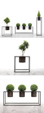 Aldo Cibic and Cristiano Urban Riviera Plant Stands - geometric and  thinking about display ideas