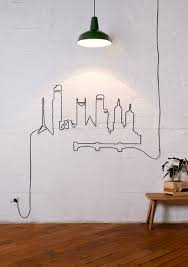 wire wall art home decor elegant 20 simple and ingenious diy projects that will hide your  on wire wall decor diy with wire wall art home decor elegant wonderful metal birds wall make a