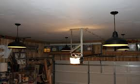 garage ceiling with new pendants garage ceiling lights best lights for garage design ideas garage