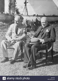 Image result for At Casablanca, Roosevelt met with British Prime Minister Winston Churchill