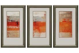 grey wooden framed wall art set of 3 white canvas abstract painting red orange brown colors on brown framed wall art with wall art designs top framed wall art set of 3 framed art sets