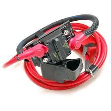boat motor wiring harnesses plugs breakers great lakes skipper tracker 104370 boat trolling motor harness w 40 amp breaker