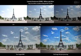 hdr photography before after. Interesting Before Beforeandafter Comparison Of An HDR Image Showing The Eiffel Tower In  Paris With Hdr Photography Before After Farbspiel Photography