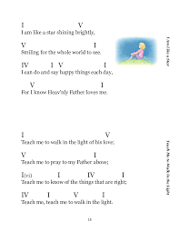 Primary Song Lead Sheets Piano Guitar By Amanda Christensen