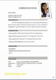 Free Student Resume Best Of Resume Format For Students Pdf Best Of International Resume Format